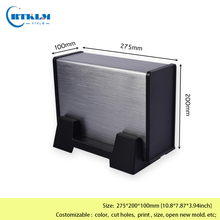 Aluminum enclosure Diy electronic housing junction box Aluminum electronic project box