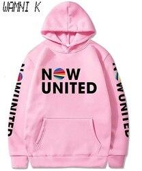 Wamni 2020 novo agora united print moletom com capuz das mulheres dos homens pulôver unisex harajuku tracksui