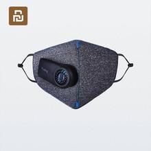 Xiaomi mijia純粋に公害防止空気マスクスマートPM2.5 550 3000mahのバッテリーと充電式フィルター三次元構造