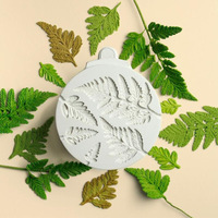 Fondant Mould Mimosa Leaves Line Decoration Cake Mold Baking Silicone Chocolate Mold WMJ 898