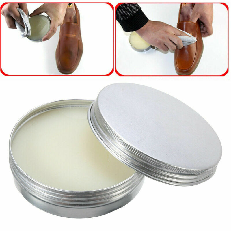 30g Leather Craft Pure Mink Oil Cream Shoes Care Cream Maintenance Polish Leathercraft accessories Ointment