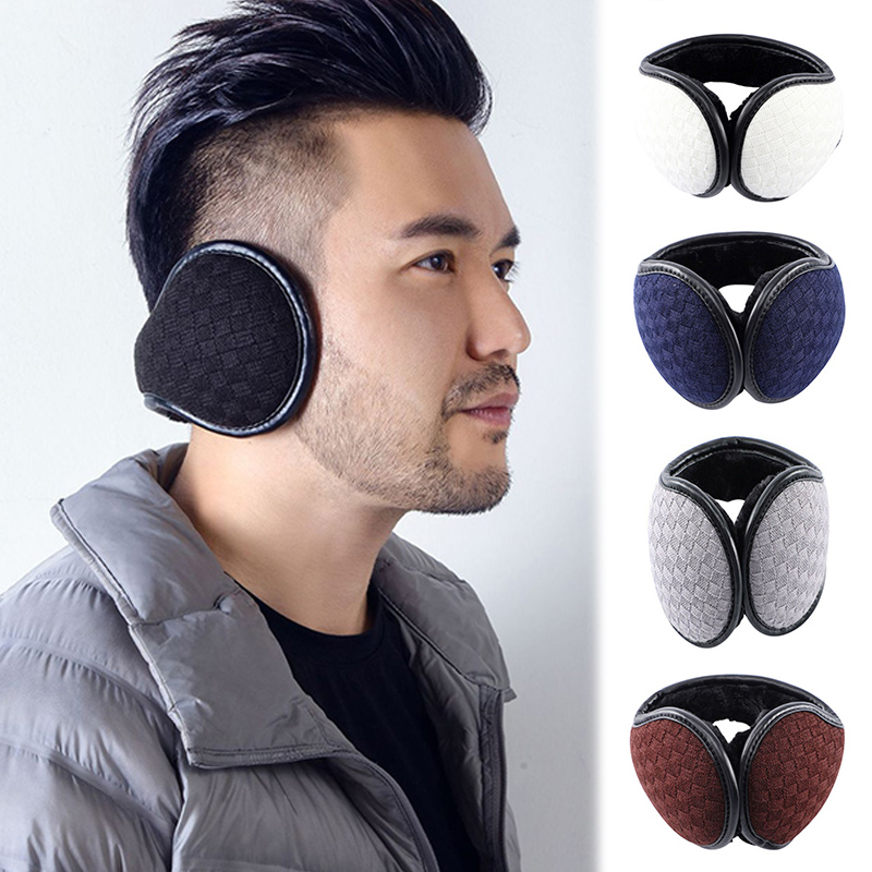 Warm Earmuff Men Women Kitted Ear Muffs Plush Adjustable Winter Headband For Sport Cycling Riding QL Sale