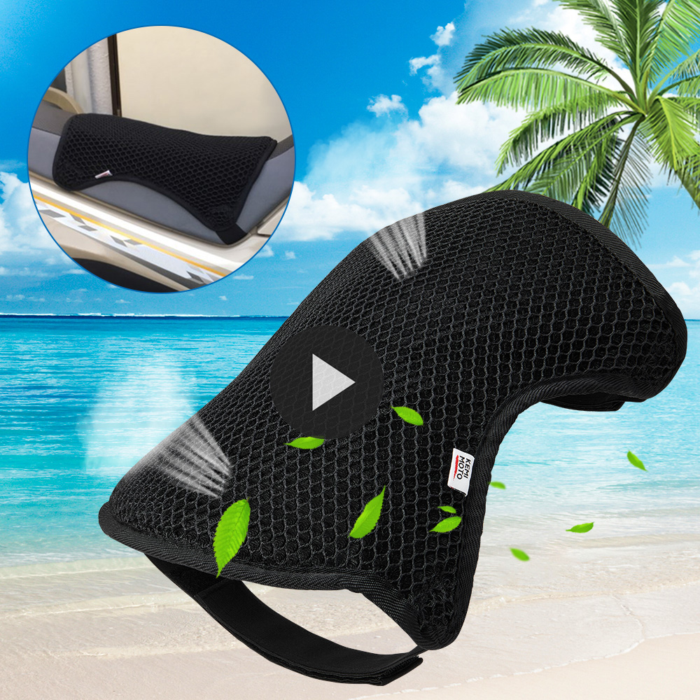 Motorcycle Seat Cover Waterproof Cushion Protect Sunscreen Prevent Bask Seat Cool Cover Sun Pad 3D Mesh R1200gs F800GS Universal