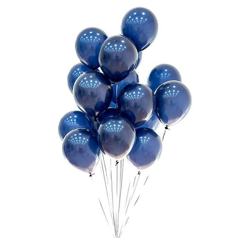 115pcs Big Macaron Blue บอลลูน Garland Arch ชุด Night Blue Gold เด็ก 1st Happy Birthday Party ตกแต่งบอลลูนอุปกรณ์ 30