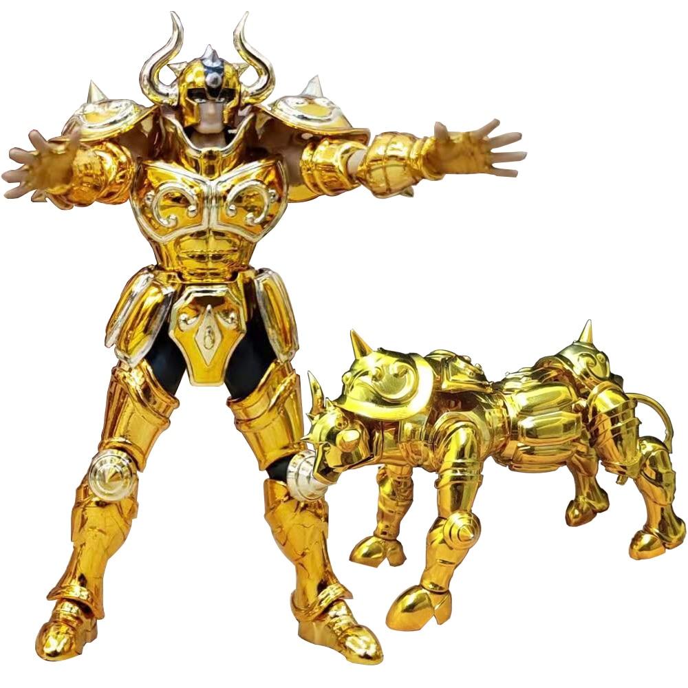 SG модель Saint Cloth Myth DDP EX Gold Saint Taurus альдебран с объектом Мини 100 мм металлическая Броня экшн-фигурка игрушка d.p Размер