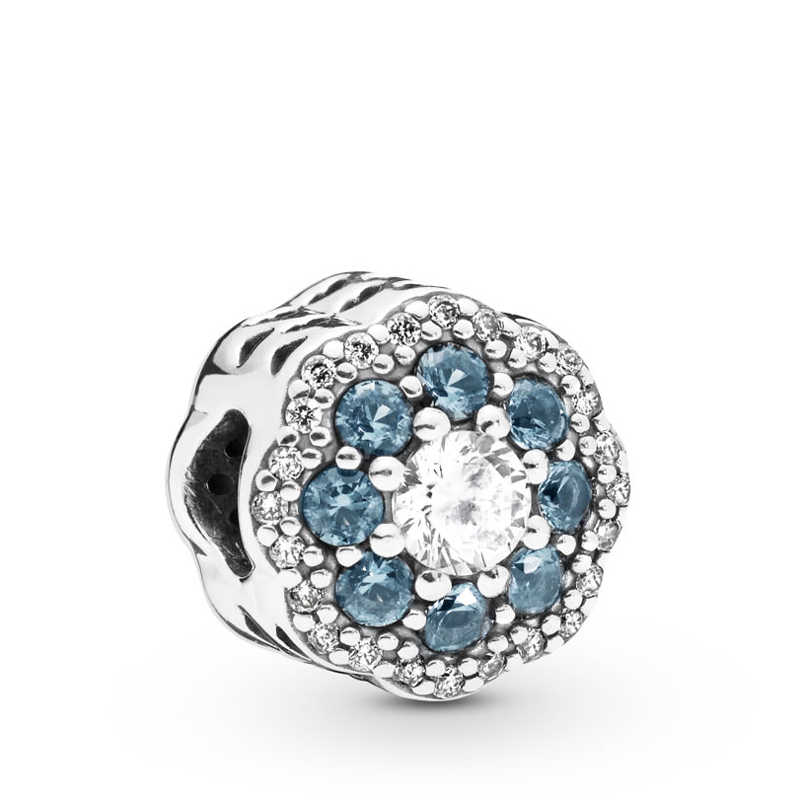 Gratis Pengiriman Otentik 925 Sterling Silver Kupu Kupu Hiasan Bunga Manik Fit Asli Pandora Gelang untuk Wanita Perhiasan