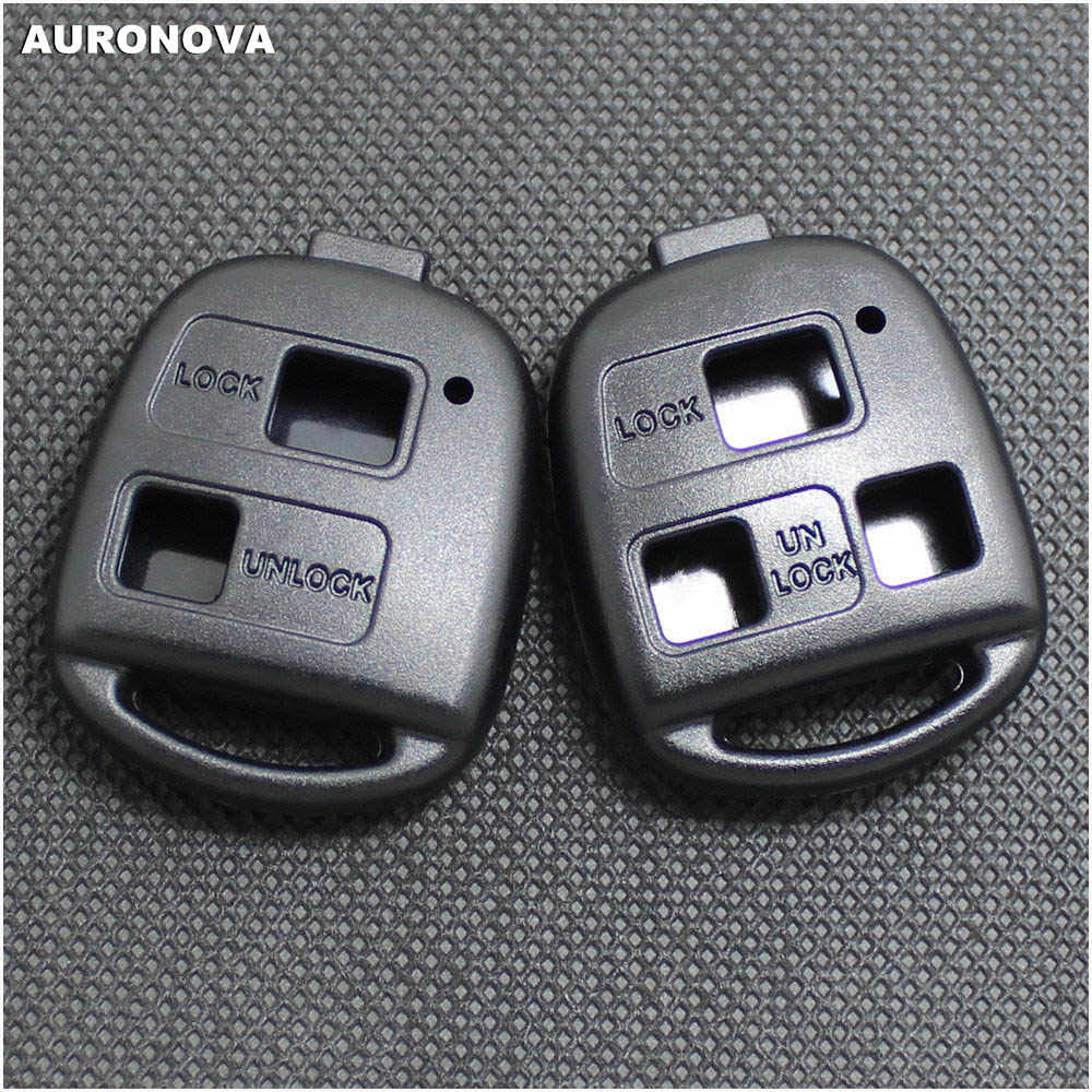 Car Remote Key Shell Case For Toyota Corolla Rush Prado Land Cruiser RAV4 Estima