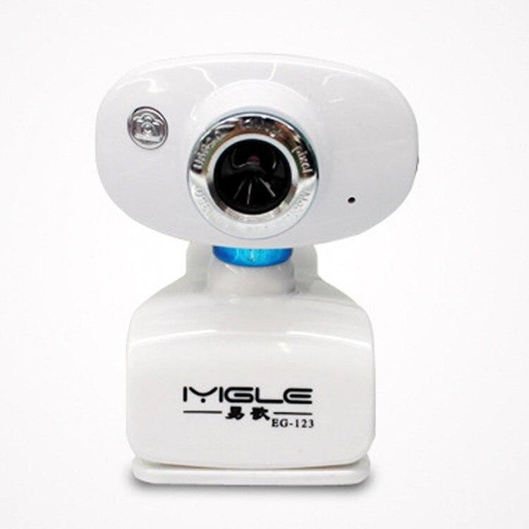 Pilote gratuit haute définition ordinateur portable Clip Webcam vidéo Webcam avec embout Microphone