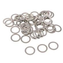 50x M14 алюминиевые прокладки для слива масла для Mazda 9956-41-400 прокладки для слива масла