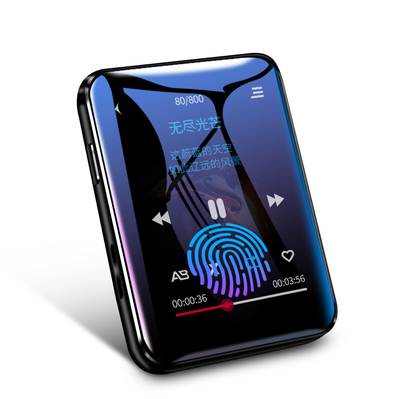 BENJIE X1 Bluetooth MP4 Player Touch Screen 8GB 16GB Music Player With FM Radio Video Player E-book Player MP3 With Speaker