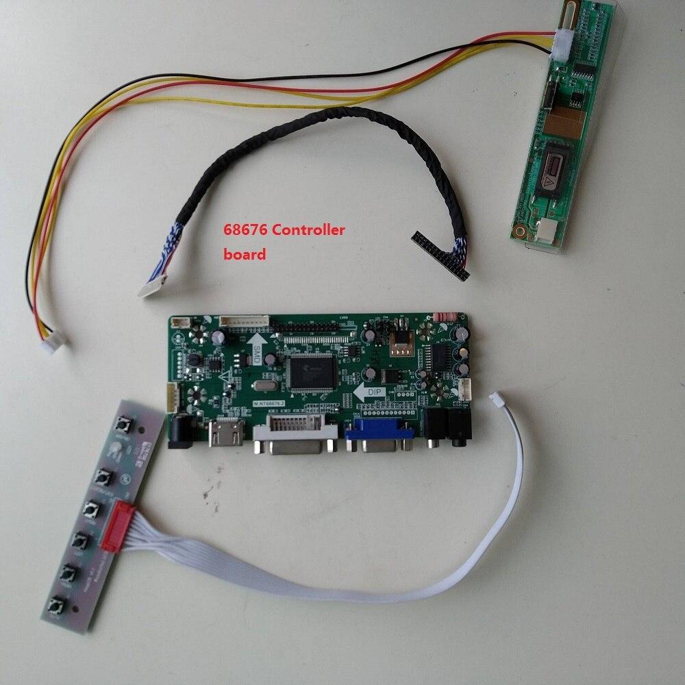 For B154EW02 1280*800 30pin Driver Board Controller DVI DIY Card Panel Screen Display  HDMI LCD 15.4 Inch Kit VGA