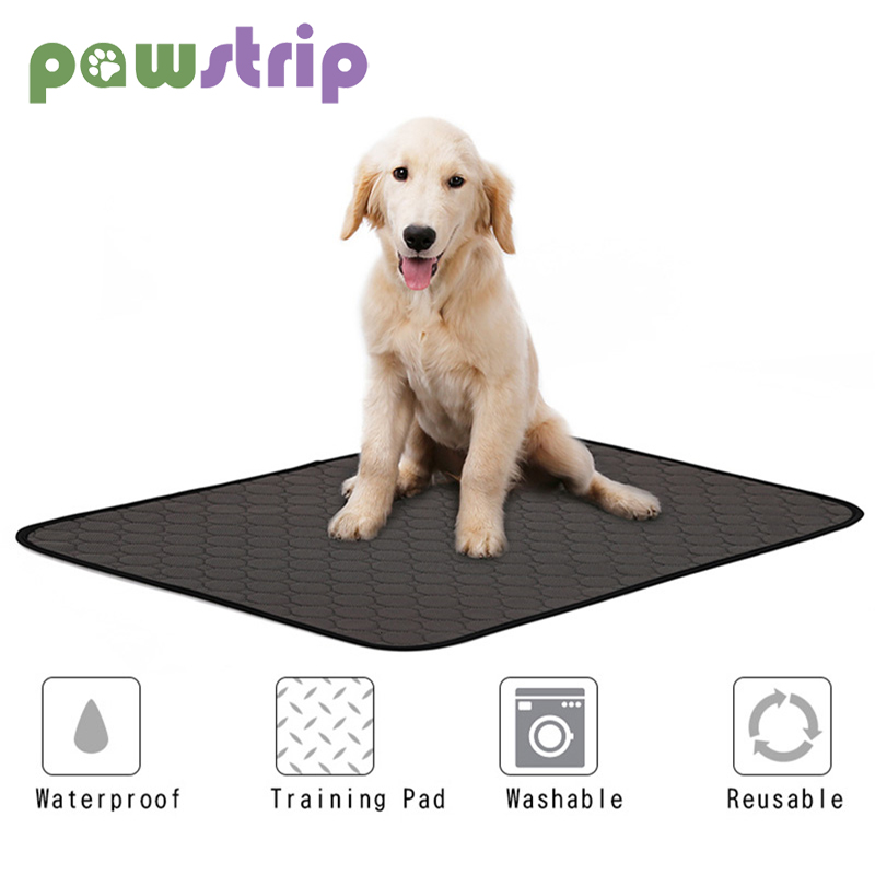 S/M/L Pet Dog Pee Mat Washable Dogs Diapers Waterproof Reusable Training Diaper Pad Water Absorbency Diaper Pets Supplies