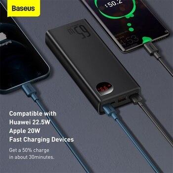 Внешний аккумулятор Baseus, 65 Вт, 20000 мАч 3