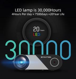 Image 4 - BYINTEK K9 Mini 1280x720P Portable Video Beamer LED Projector Proyector for 1080P 3D 4K Cinema(Option Multi Screen For Iphone