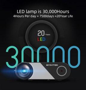 Image 4 - BYINTEK K9 Mini 1280x720P projecteur vidéo Portable projecteur LED Projecteur pour 1080P 3D 4K cinéma (Option multi écran pour Iphone)