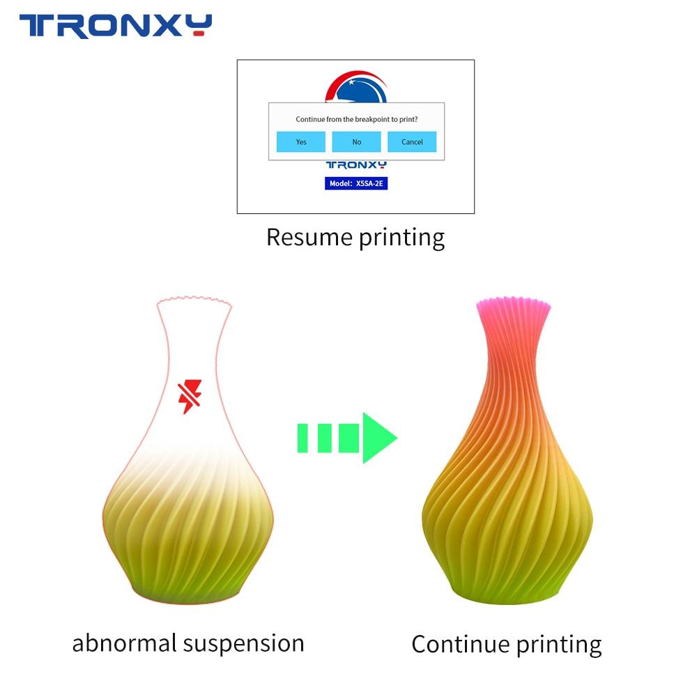 Tronxy 3D Printer X5SA-2E Bicolor 2 in 1 out  Dual Extruder DIY Print Kits Auto level Printing imprimante 3d printer hotend 4