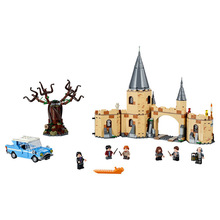 цена на New Magic Whomping Willow Compatible Movie Potter 75953 Model Building Blocks Bricks Toys Kids For Christmas Gifts 39045