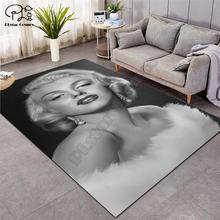 Мэрилин Монро ковры мягкие фланелевые 3d коврики с принтом противоскользящие