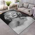 Мэрилин Монро ковры мягкие фланелевые 3D коврики с принтом коврики противоскользящие большой ковер домашний декор стиль-4