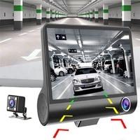 XIAOMI Car DVR 3 Cameras Lens 4.0 Inch Dash Camera Dual Lens With Rearview Camera Video Recorder Auto Registrator Dvrs Dash Cam