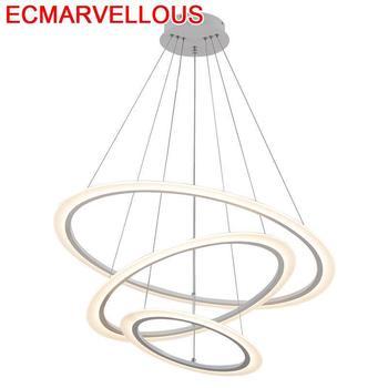 デコホーム Gantung 光沢パラ四北欧デザインロフト Lampen 現代 Luminaria サスペンション照明器具ペンダントライト