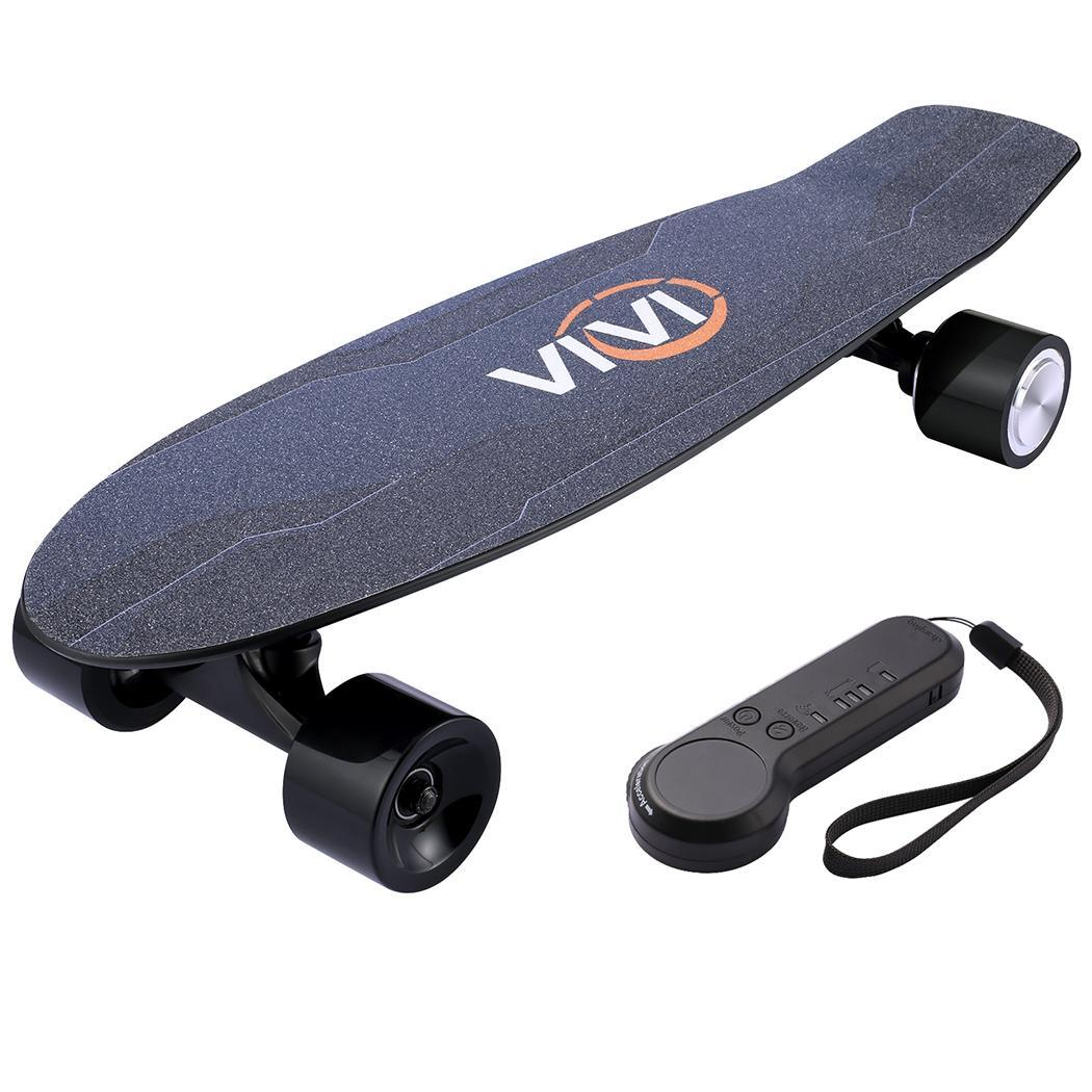 Electric Skateboard 10 MPH Top Speed 350W 8 Miles Max Range with Remote Control 27.6x7.1x5.5inch 6