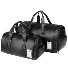 Travel-Bag Handbag Luggage-Bag Weekend Fitness Waterproof Sports Women with Shoes Pocket