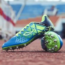Tack Spikers/Обувь для мальчиков; профессиональные спортивные и полевые кроссовки для детей; легкая тренировочная гоночная обувь с математическими шипами для мальчиков и девочек