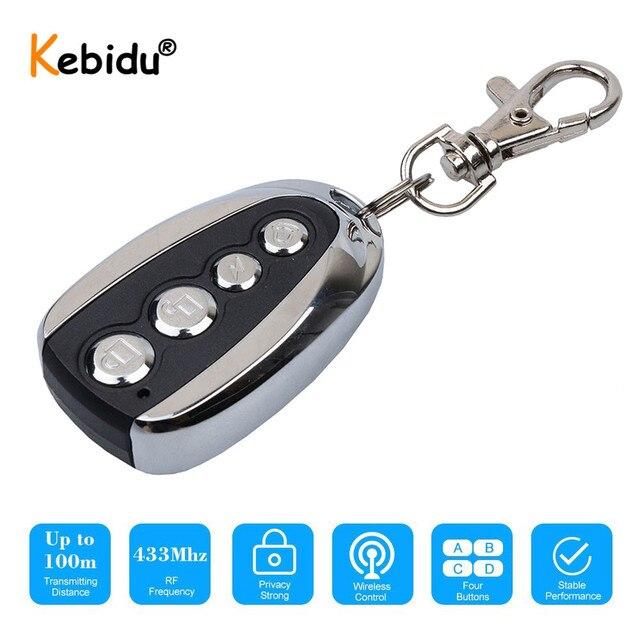 Kebidu Wireless 433Mhz Remote Control Cloning Gate for Garage Door Copy 433.92Mhz Remote Control Portable Duplicator