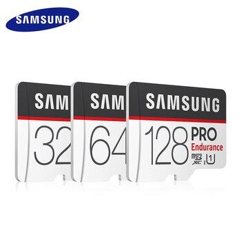 SAMSUNG PRO Endurance Memory Card Micro SD Card 128GB 64GB 32GB U1 Class10 TF Card 100MB/s SDXC SDHC UHS-I Trans Flash Card