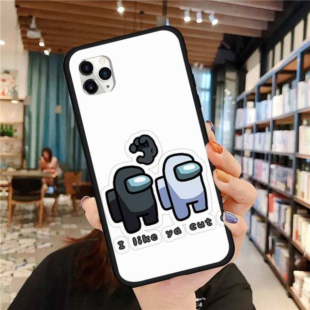 AMONG US THEMED IPHONE CASE