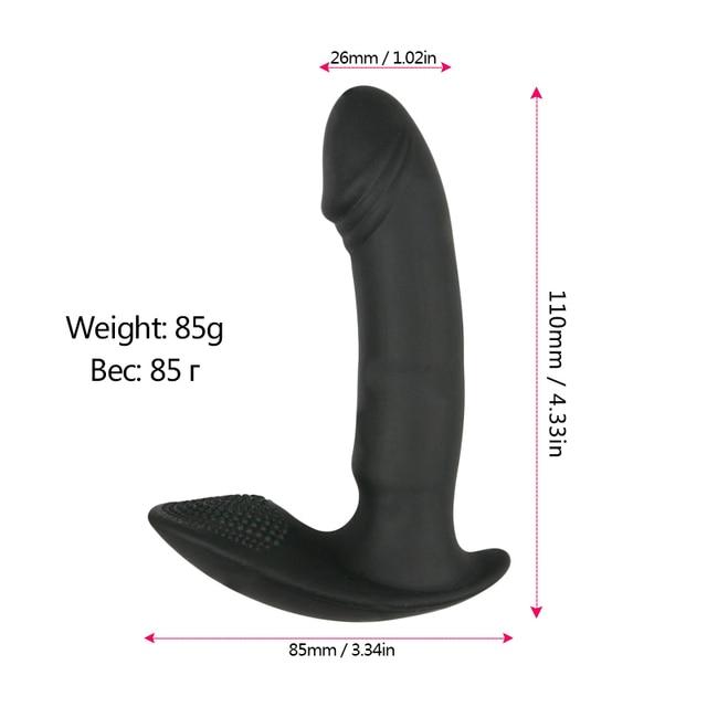 Wearable Vibrator Dildo Vibrating Panties Vaginal Massage G Spot Clitoris Stimulator Female Masturbation Sex Toys for Woman 3