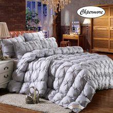 Chpermore – couette torsadée 100% coton, couette en duvet de canard blanc, 100% duvet d'oie/canard, pour lit double King/Queen, pleine taille