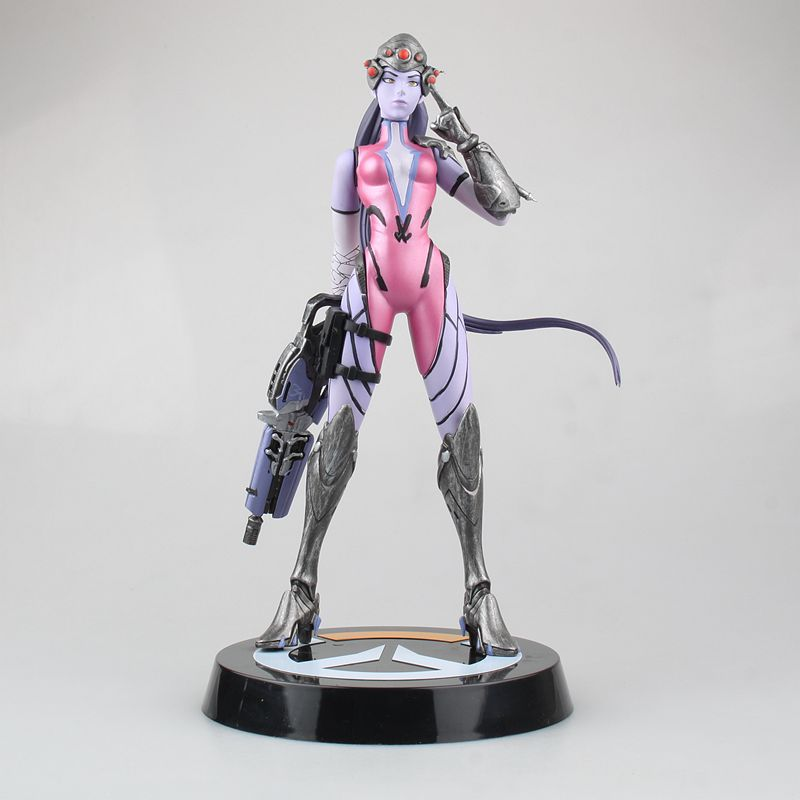 28cm Japan Anime Game Heros Widowmaker Amelie Lacroix Sexy Girls PVC Action Figure Model Toys Colletible Dolls Gifts