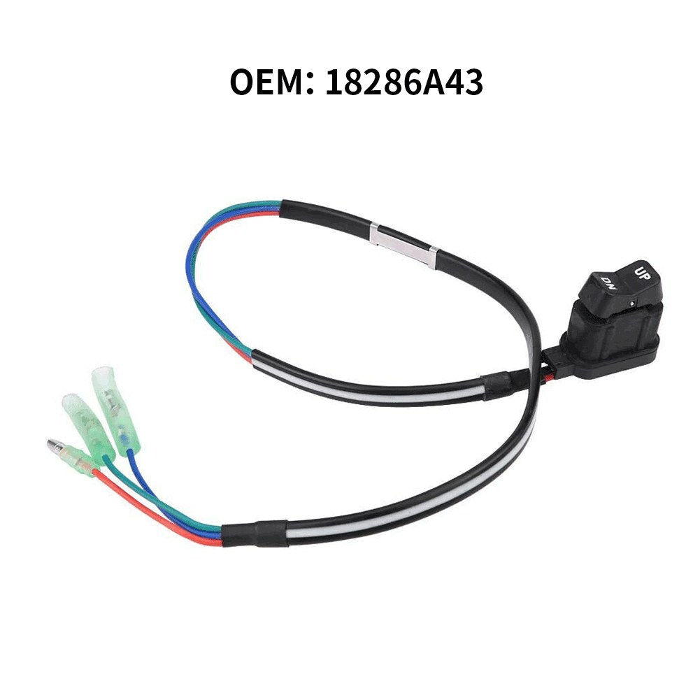 Tilt Trim Switch Assembly For Mercury Outboard Remote Control Box 87-18286A43 8718286A43