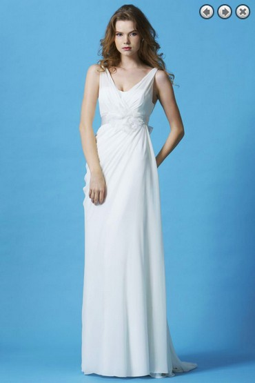 Free Shipping Dinner 2018 Vestido De Noiva Formales Back New Fashion White Long Bridal Gown Detachable Belt Bridesmaid Dresses