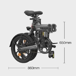 [EU STOCK] HIMO Z16 складной электрический велосипед 16 ''CST шина городской электровелосипед IPX7 250 Вт двигатель постоянного тока 25 км/ч 36 В съемный аккумулятор Электровелосипед      АлиЭкспресс