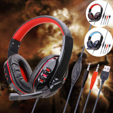 7 1 Stereo Gaming Headsets Wired Over-Head Gamer Headphone With Microphone Volume Control Game Earphones For PC Laptop Xbox cheap CARPRIE In-Ear RoHS WEEE NONE Bone Conduction CN(Origin) Wireless+Wired 98dB For Internet Bar Monitor Headphone for Video Game