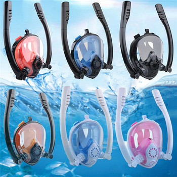 Diving Mask Scuba Mask Underwater Anti Fog Goggles Full Face Snorkeling Mask For Women Men Swimming Snorkel Diving Equipment