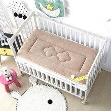 Bed-Sheet Mattress Baby Newborn Bedding Cot-Pad Velvet Warm Soft And Winter Fashion Dual-Summer