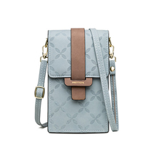 2021 сумки для женщин с защелкой с клеточным принтом кожаный плечевой ремень через плечо сумка мобильный телефон держателя карты женские сум...