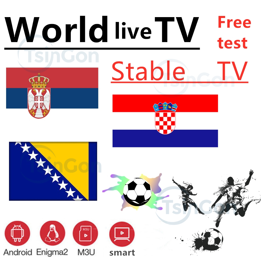 World IPTV Bosnia Croatia Serbia TV 7000+ Live Free VOD Support Android M3u Enigma2   2000+Vod