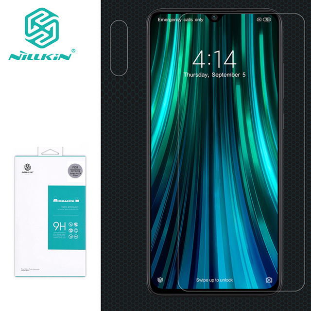 Dla Xiaomi Redmi Note 8 pro ze szkła hartowanego NILLKIN Amazing H Anti Explosion 9H Screen Protector dla Redmi note 8 pro folia ze szkła