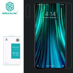 Image 1 - Закаленное стекло NILLKIN Amazing H для Xiaomi Redmi Note 8 pro, взрывобезопасная защита экрана 9H для Redmi Note 8 pro, стеклянная пленка