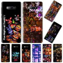 Fnaf cinco noches en freddy Bling lindo caso de teléfono para Samsung S6 S7 borde S8 S9 S10 e plus A10 A50 A70 note8 J7 2017(China)