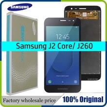סופר Amoled 5 לסמסונג גלקסי J2 Core J260 LCD תצוגת מסך מגע מסך Digitizer עצרת להחליף עבור samsung j260 lcd