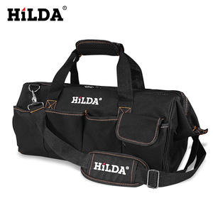 Bags Hardware Canvas-Tool Electrician-Bag Waterproof Size HILDA 12-14-16-18-Inch Large-Capacity