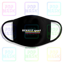 Renault Sport Megane Clio Rs Reusable Cotton Anti Pollution Face Mouth Mask