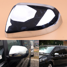 Left ABS Chrome Rearview Mirror Cover Trim Fit for Mercedes Benz Vito W447 2014 2015 2016 2017 2018