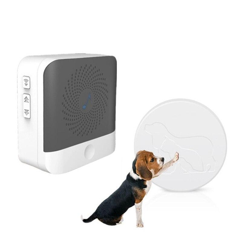 Dog Doorbell Standard Pet Doorbells Wireless Touch Button Dogs Training Doorbells Paw Bell Family Pet Dog Training Bells Hot-1